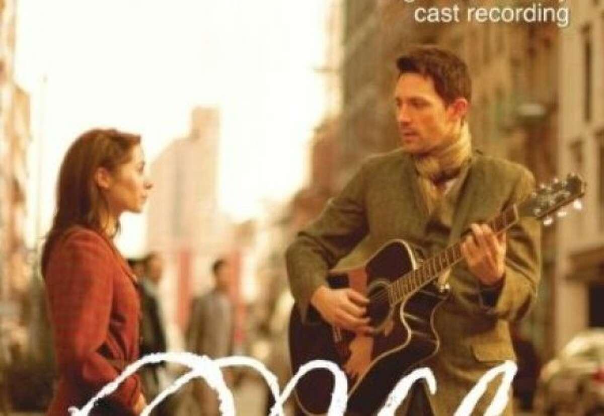 CD cover for original Broadway cast album of the musical