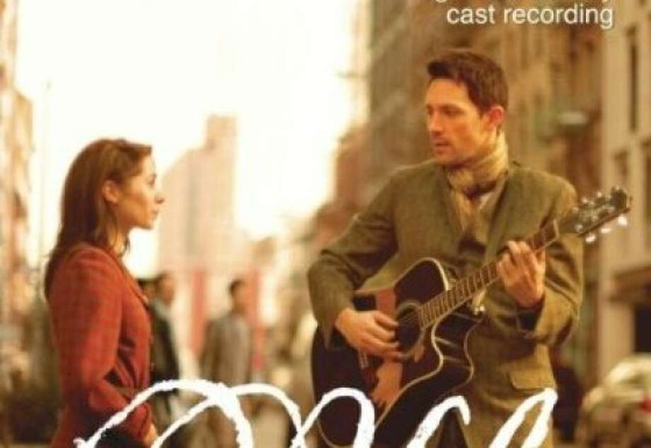 """CD cover for original Broadway cast album of the musical """"Once."""" Photo: Sony Masterworks"""