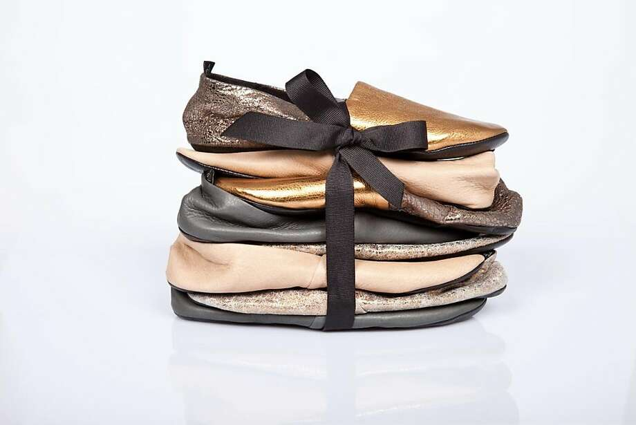 Newbarks are a line of soft slip-on shoes carried at Carrots boutique in San Francisco. Photo: Newbarks