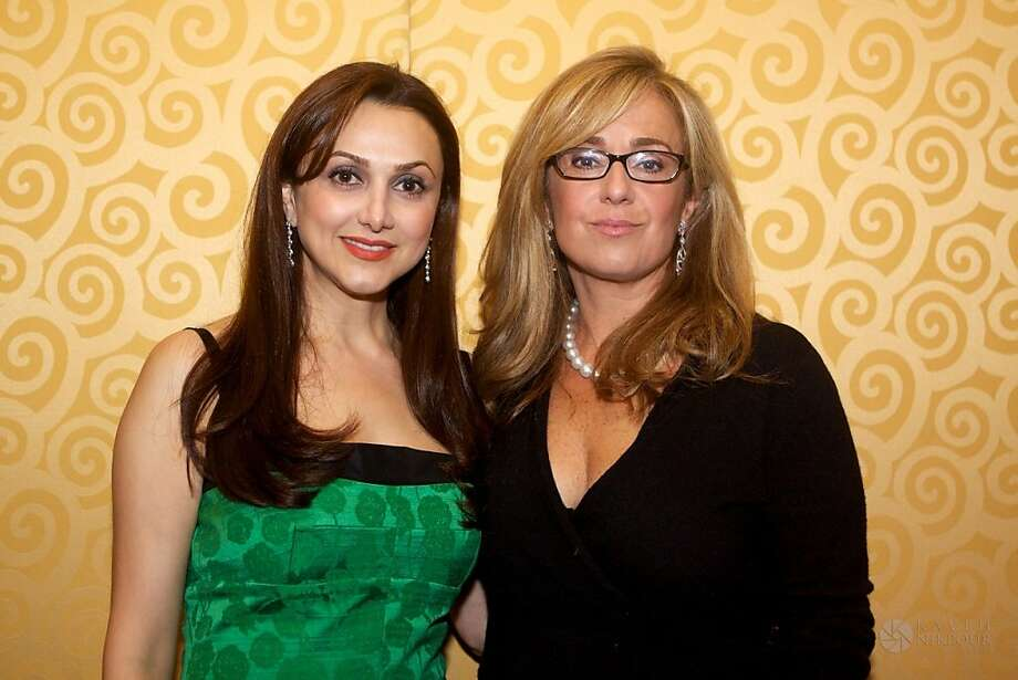Persian philanthropist Bita Daryabari, who co-founded the Pars Equality Center, celebrated its expanding reach with a second annual fundraising gala on March 10 at the Cabana Hotel in Palo Alto. The event raised more than $120,000 for the center, which assists Iranian Americans with legal rights. The same week, Pars was recognized for its efforts with an official proclamation by the city of San Jose. Here, Daryabari and Sharmin Bock, an assistant district attorney in Alameda County, at the Pars gala. Photo: Courtesy Of Bita Daryabari