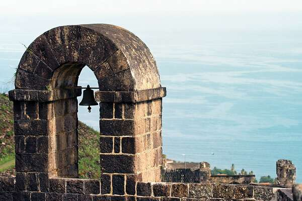 The Bell Tower of Brimstone Hill Fortress in St. Kitts.