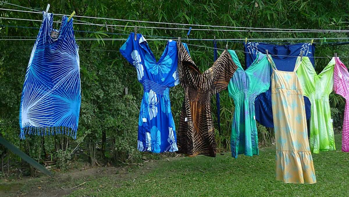 Caribelle Batik clothes, St. Kitts.