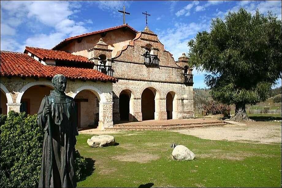 Mission San Antonio de Padua hosts Mission Days on April 14. Photo: Robert Stokstad