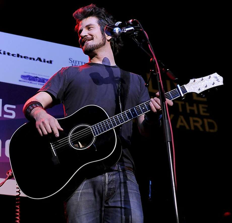 Matt Nathanson NAPA, CA - APRIL 10: Matt Nathanson performs at the Uptown Theatre as part of Aloft Hotels Presents Live in the Vineyard on April 10, 2011 in Napa, California. (Photo by Tim Mosenfelder/Getty Images For Live In The Vineyard LLC) Photo: Tim Mosenfelder, Getty Images
