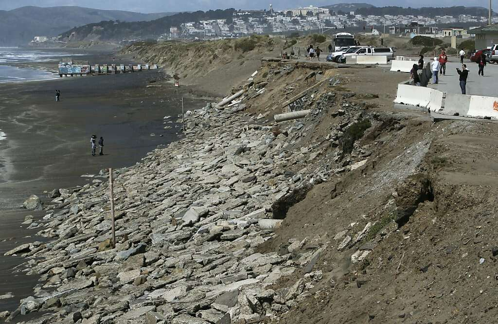 What laws have been passed regarding beach erosion?