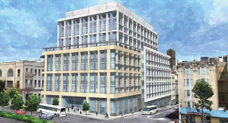 Proposed medical office building, Campus at Van Ness & Geary Photo: SmithGroup Architects
