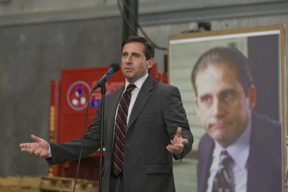 """Eternal goofball Michael Scott was the Scranton branch manager of paper company Dunder Mifflin Inc. on the U.S. version of """"The Office.""""   (NBC)"""