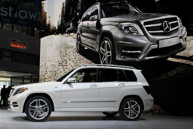 The Daimler AG Mercedes-Benz GL 450 vehicle is unveiled at the New York International Auto Show in New York, U.S., on Wednesday, April 4, 2012. The 2012 New York Auto Show is open to the public April 6-15. Photographer: Peter Foley/Bloomberg Photo: Peter Foley, Bloomberg