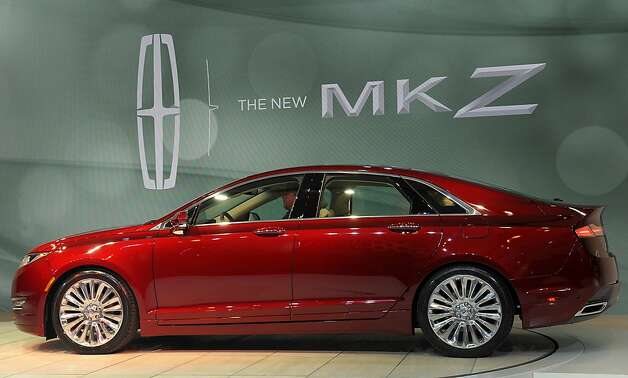 The Ford Motor Co. Lincoln MKZ vehicle is unveiled at the New York International Auto Show in New York, U.S., on Wednesday, April 4th, 2012. The 2012 New York Auto Show is open to the public April 6-15. Photographer: Peter Foley/Bloomberg Photo: Peter Foley, Bloomberg