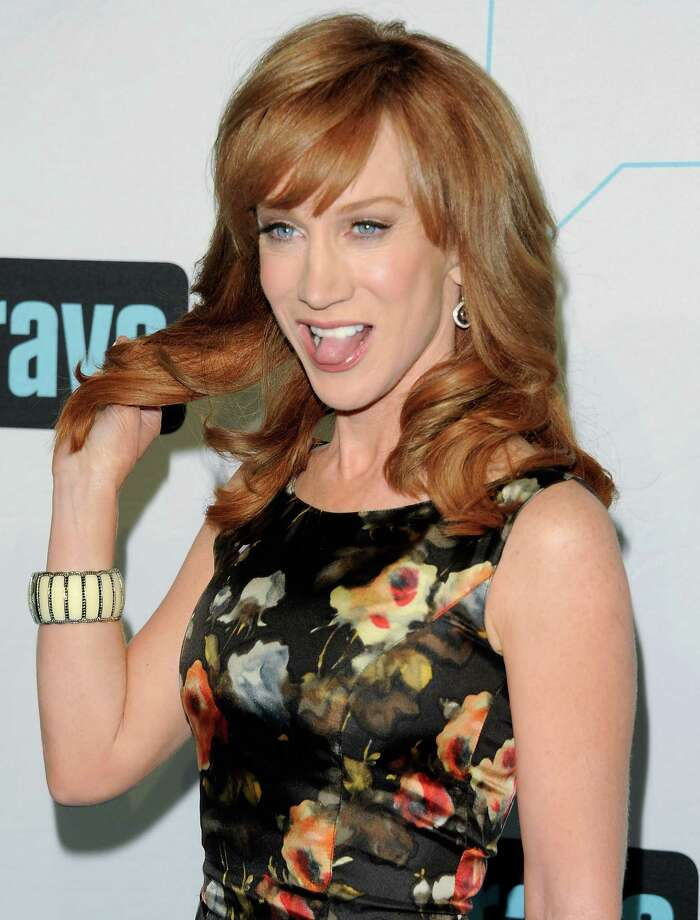 """Kathy"" star Kathy Griffin attends the Bravo network 2012 upfront presentation on Wednesday, April 4, 2012 in New York. Photo: Evan Agostini, Associated Press / AGOEV"