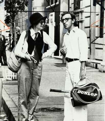 "In addition to being one of Woody Allen's best films, ""Annie Hall"" also changed women's fashion. When Diane Keaton donned a casual, menswear-inspired look, stylistas of '77 shouted, ""chic!"" (Courtesy photo / The Chronicle)"