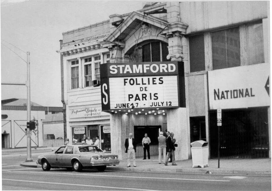 July 30, 1980: In 1987 demolition began on the Stamford Theater to make way for the Rich Forum. Photo: File Photo
