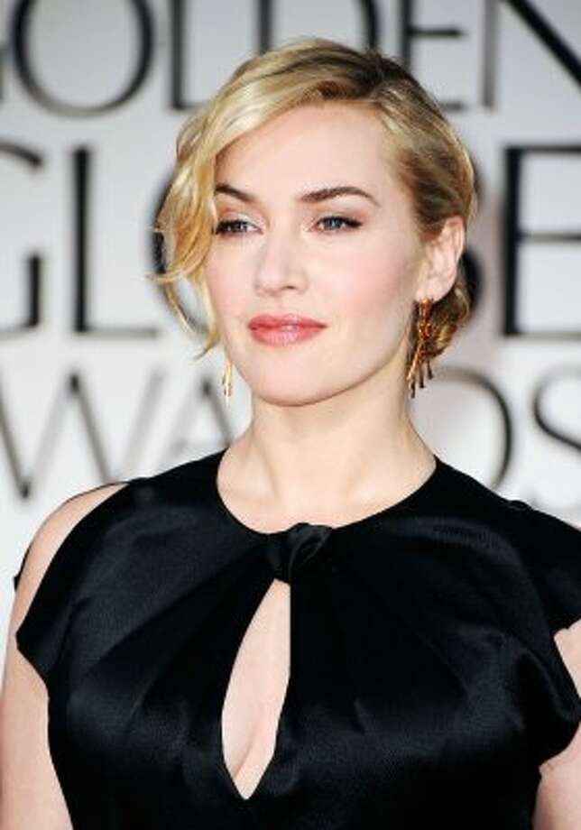 Kate Winslet at the 2012 Golden Globe Awards. (Frazer Harrison / Getty Images)