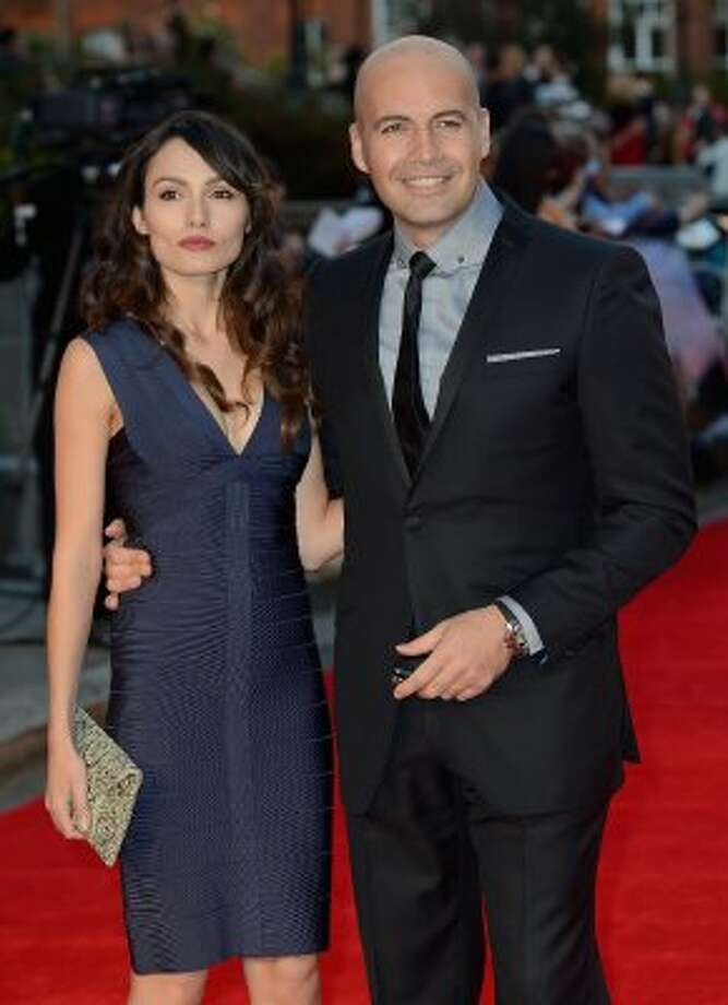 "Billy Zane (R) and Candice Neill at the ""Titanic 3D"" premiere on March 27. (Gareth Cattermole / Getty Images)"
