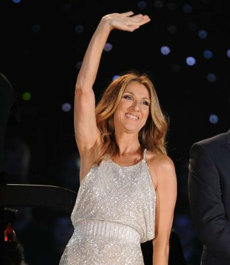 Still singing. Celine Dion performs at Central Park in New York City on Sept. 15, 2011.  in New York City. (Jason Kempin / Getty Images)