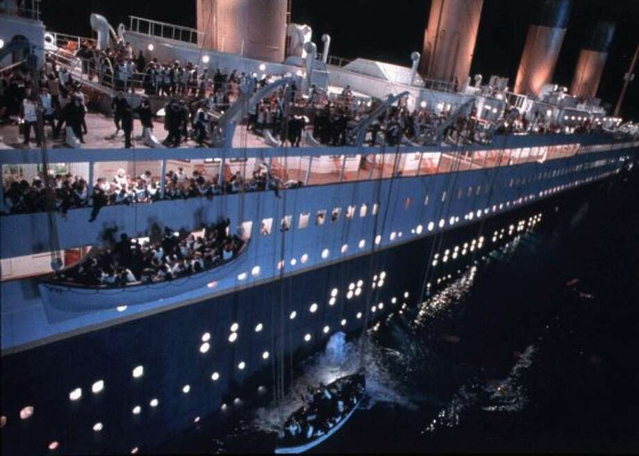 "The buzz before ""Titanic"" was released was that it cost a staggering $200 million to make. (Associated Press)"