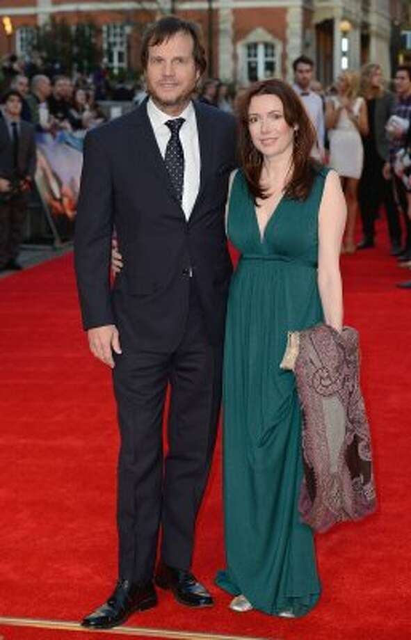 "Bill Paxton and Louise Newbury at the ""Titanic 3D"" premiere in London on March 27. (Gareth Cattermole / Getty Images)"