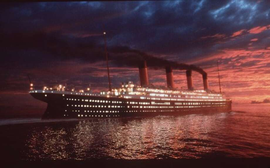 "Ocean liner from movie ""Titanic"" (Getty Images)"