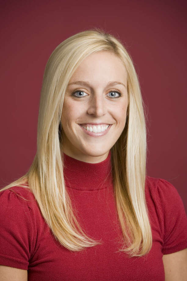 In this undated image released by the University of Arkansas, Razorback Foundation assistant director Jessica Dorrell is shown. Dorrell was a passenger of Arkansas football coach Bobby Petrino during a weekend motorcycle ride that ended with a crash that sent him to the hospital, according to a police report released Thursday, April 5, 2012. Photo: AP