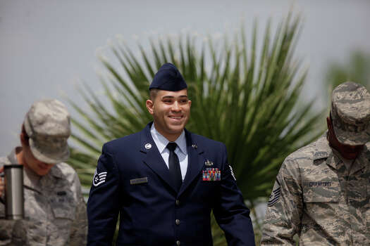 April, 2012: Staff Sgt. Peter Vega-Maldonado, 32, pleaded guilty to two charges stemming from his relationship with a 21-year-old airman he supervised in basic training. In exchange for a reduced sentence, he agreed to testify against two other trainers he said had illicit relationships with women. The judge gave Maldonado 90 days in jail, 30 days hard labor while restricted to the base, reduction from staff sergeant to airman and forfeiture of $500 a month pay for four months. Read more: Two more Lackland AFB instructors implicated in sex scandal Photo: Lisa Krantz, SAN ANTONIO EXPRESS-NEWS / SAN ANTONIO EXPRESS-NEWS
