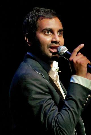 "Predicting that President Obama walk out to Future's ""You Deserve It"" to make his victory speech. -- @azizansari Photo: Mitchell Zachs / South Beach Comedy Festival 2012"