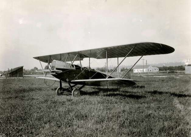 On May 24, 1920 the Boeing BB-L6 made its first flight. Later it became first plane to fly over Mt. Rainier. Photo: The Boeing Co.