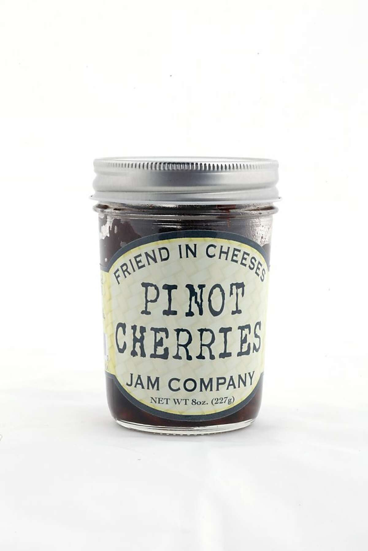 Friend in Cheeses Jam Company Pinot Cherries as seen in San Francisco, California on Wednesday, January 25, 2012.