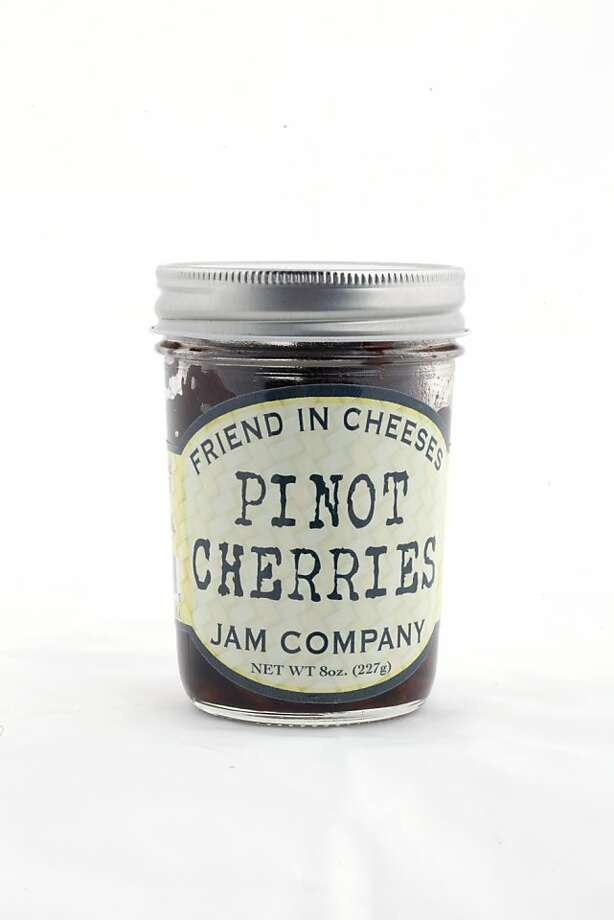 Friend in Cheeses Jam Company Pinot Cherries as seen in San Francisco, California on Wednesday, January 25, 2012. Photo: Craig Lee, Special To The Chronicle