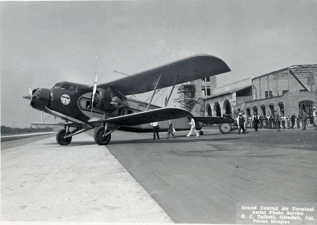 "Boeing's Model 80, rolled out in 1928, was ""America's first airliner designed specifically for passenger comfort and convenience,"" according to the company. It had a fuselage made of welded-steel tubing covered with fabric, and wooden wingtips that could be removed to fit the airplane into early hangars. Pilots sat in an enclosed flight deck, while passengers (up to 12 at first, then 18 in the 80A) had seats upholstered in leather, reading lamps, forced-air ventilation, and hot and cold running water. Nurses serving aboard the Model 80A became the first female flight attendants. This is the Seattle Museum of Flight's Model 80A-1, which flew for United Airlines. Photo: Museum Of Flight"