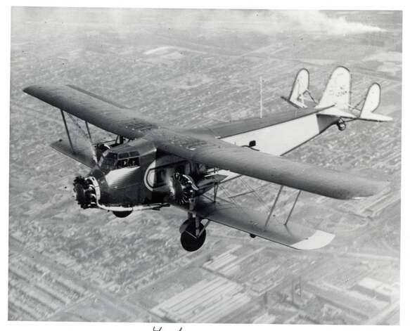 The Seattle Museum of Flight's Model 80A-1 is shown in flight. Photo: Museum Of Flight
