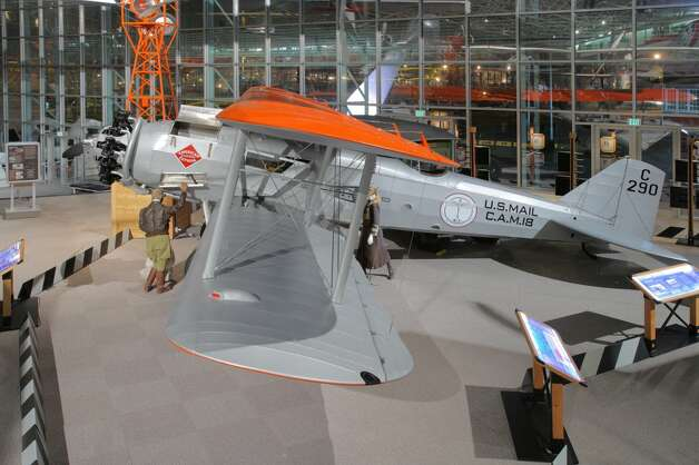 The Seattle Museum of Flight's reproduction of a Model 40B. Photo: Museum Of Flight