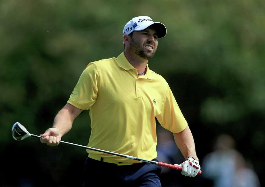 Spaniard Sergio Garcia climbed into contention Friday with a 4-under-par 68 - only his sixth round in the 60s in 14 trips to Augusta National Golf Club. Photo: David Cannon / 2012 Getty Images