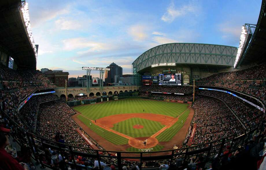 12. Minute Maid Park, home of the Houston Astros. Homes cost $150 per square foot, 1.72 times the area average. Photo: Bob Levey, Getty Images / 2012 Getty Images