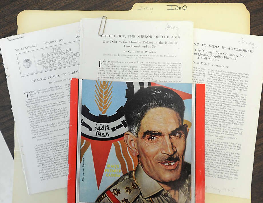 A file on Iraq was in one of many files that Historic Albany pulled out of f563fb5d07649
