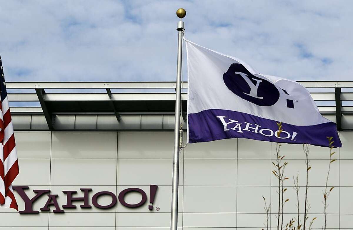 In this Dec. 1, 2010 photo, show exterior of Yahoo headquarters in Sunnyvale, Calif. Carol Bartz was fired from Yahoo Monday after two and a half years as CEO, she said in an e-mail to the company. Tim Morse, the company's chief financial officer, was named interim CEO.