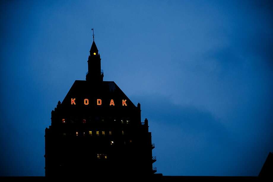 The Rochester, N.Y., headquarters of Eastman Kodak, which is selling patents to a group that includes Apple and Google. Photo: Brady Dillsworth, Bloomberg
