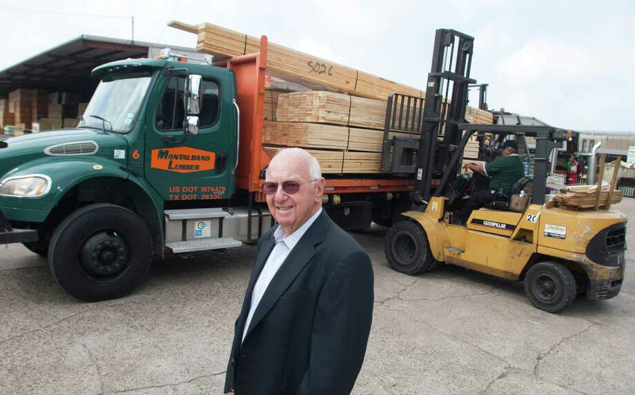 Mike Montalbano, president of Montalbano Lumber, will be honored as the 2012 Texas Lumberman of the Year. His grand-father, who once worked at a pasta mill in Sicily, founded the Houston company in 1900. Photo: J. Patric Schneider / Houston Chronicle