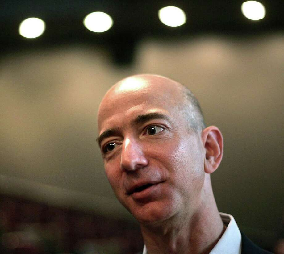 """Our core business activities are probably the most important thing we do to contribute, as well as our employment in the area,"" says Amazon founder Jeff Bezos (John Lok/Seattle Times/MCT) Photo: John Lok / Seattle Times"
