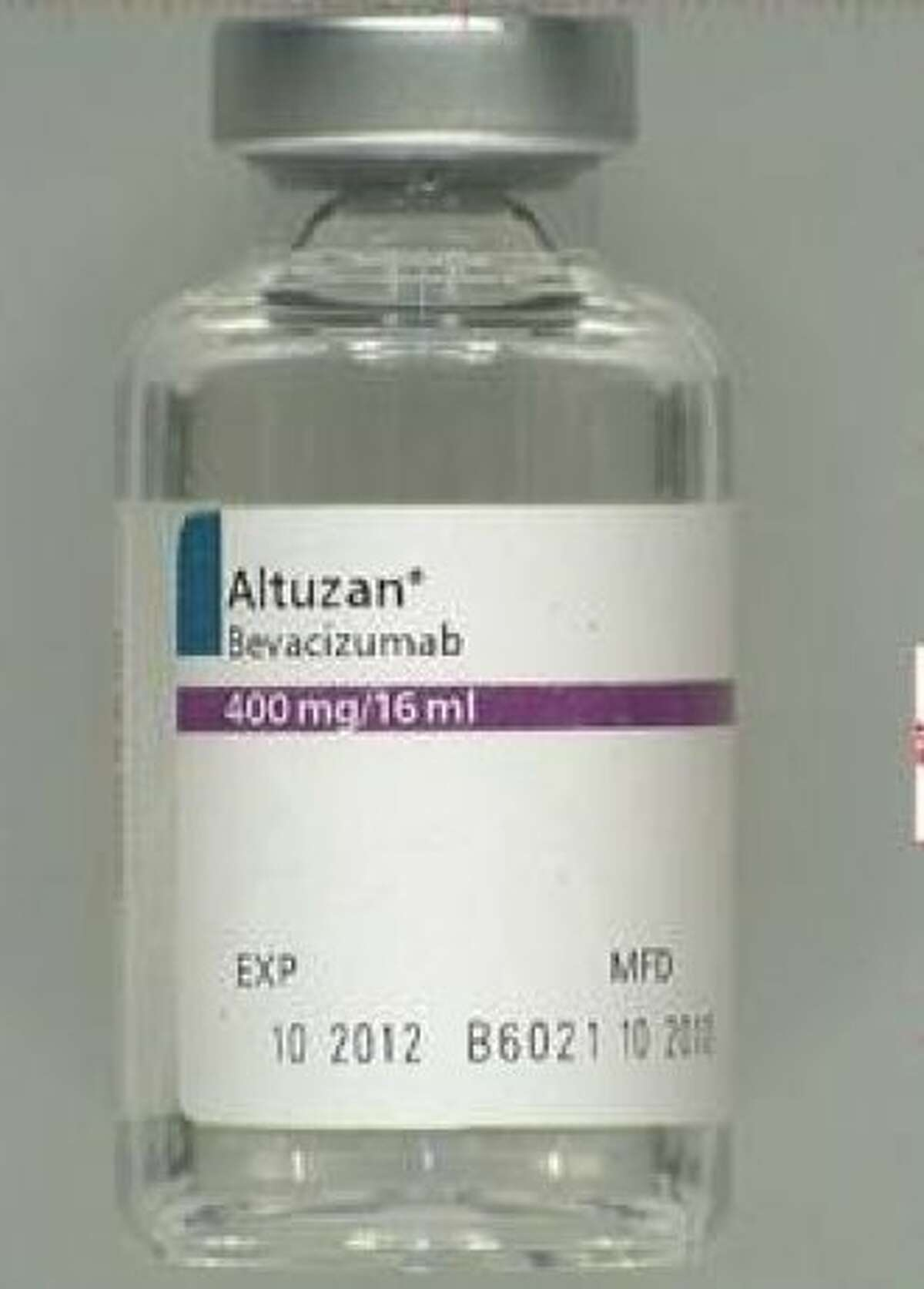 This is a counterfeit version Altuzan, the Turkish brand for Avastin, the U.S Food & Drug Administration officials announced on Tuesday.