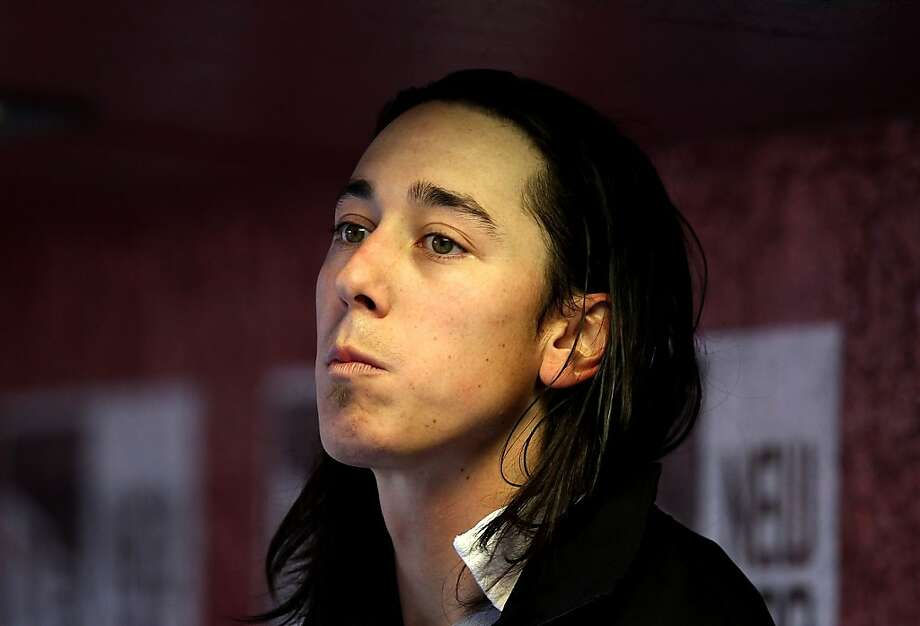 PHOENIX, AZ - APRIL 06:  Starting pitcher Tim Lincecum #55 of the San Francisco Giants watches from the dugout during the Opening Day game against the Arizona Diamondbacks at Chase Field on April 6, 2012 in Phoenix, Arizona.  (Photo by Christian Petersen/Getty Images) Photo: Christian Petersen, Getty Images