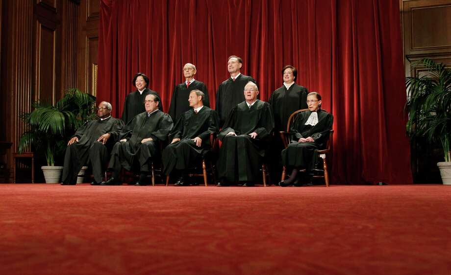 The next president will likely fill one of more positions on the Supreme Court.  Photo: File Photo, Associated Press