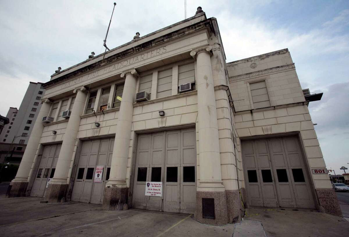 Old Fire Station 1 in downtown San Antonio, Texas, Saturday, April 7, 2012.