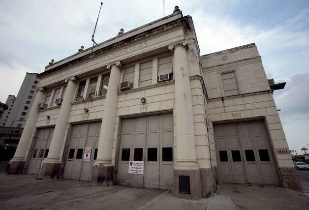 Old Fire Station 1 in downtown San Antonio, Texas, Saturday, April 7, 2012. Read More  Photo: KEVIN MARTIN, SAN ANTONIO EXPRESS-NEWS / SAN ANTONIO EXPRESS-NEWS (NFS)