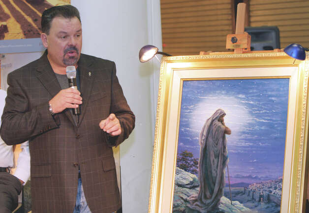 Famed painter Thomas Kinkade died at 54. Photo: Gene Blythe / AP2006