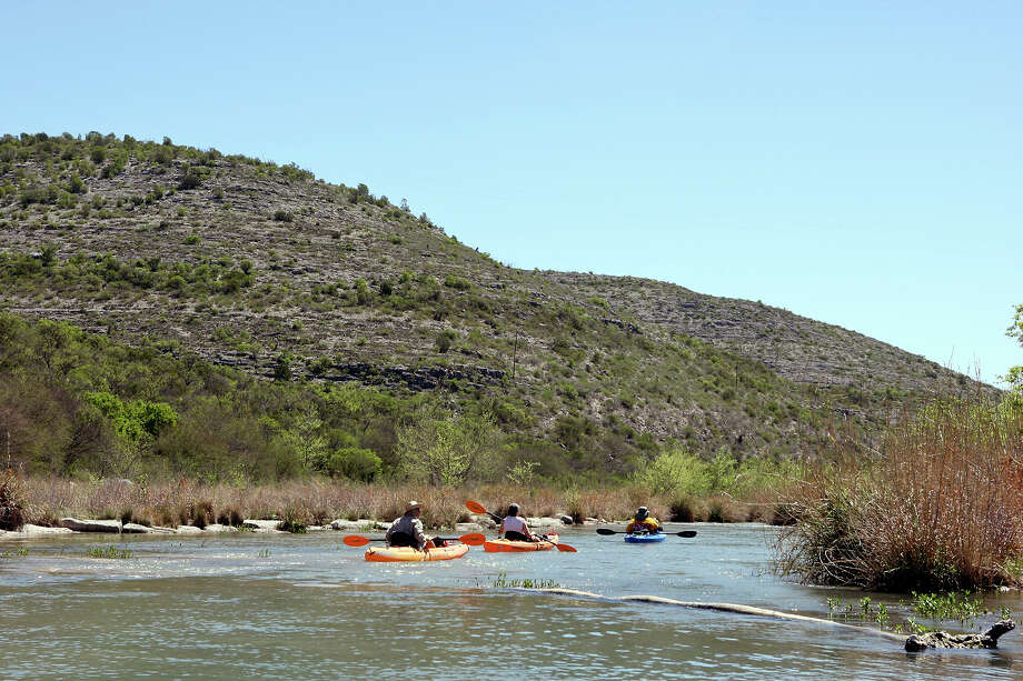 METRO - on the Devils River Friday March 23, 2012 near Juno, Tx. Photo: EDWARD A. ORNELAS, SAN ANTONIO EXPRESS-NEWS / © SAN ANTONIO EXPRESS-NEWS (NFS)