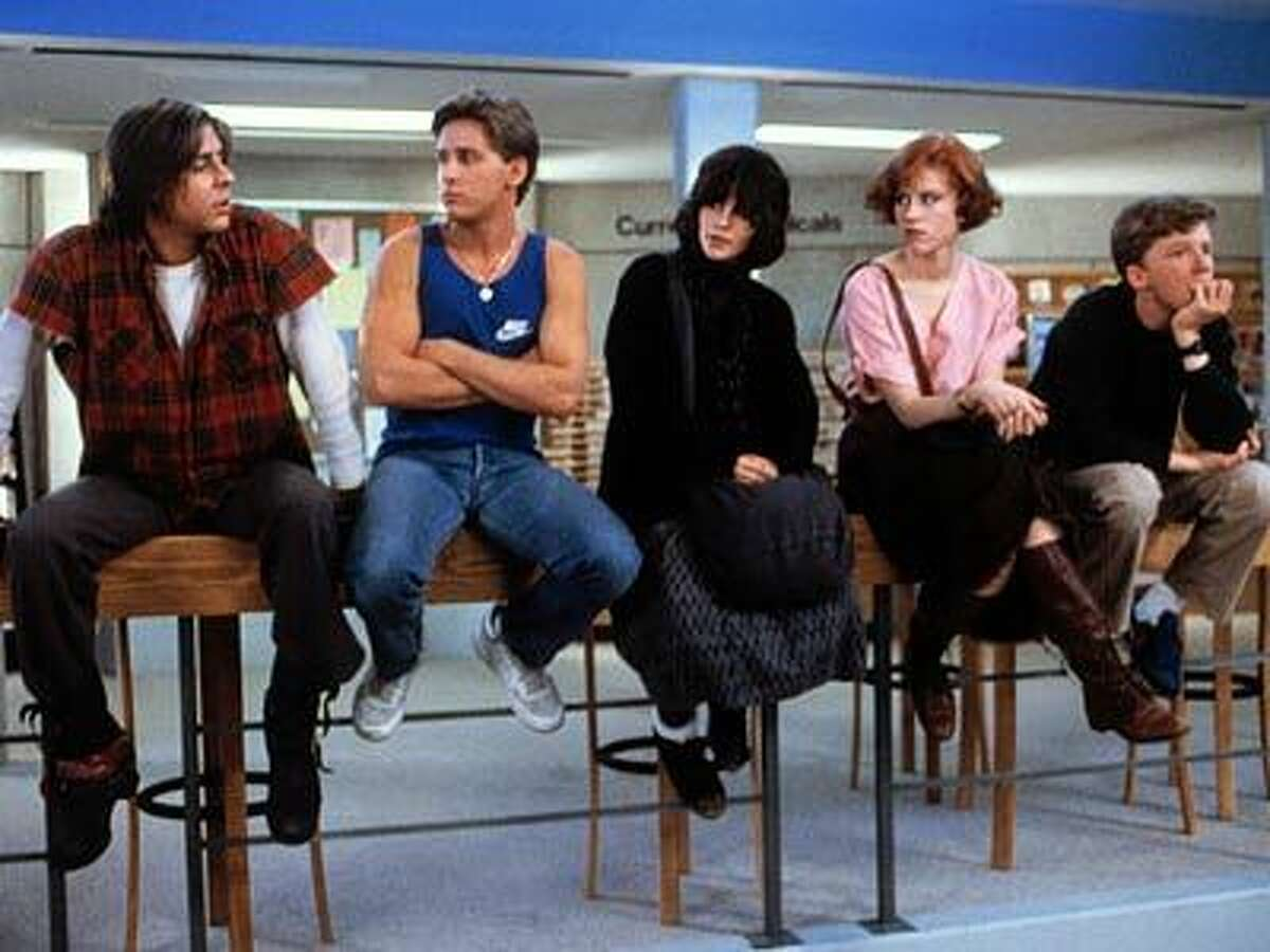 The library setting for the movie was constructed in the gym of Maine North High School in the Chicago suburbs, which had closed down a couple years earlier. The building was also used to shoot director John Hughes'