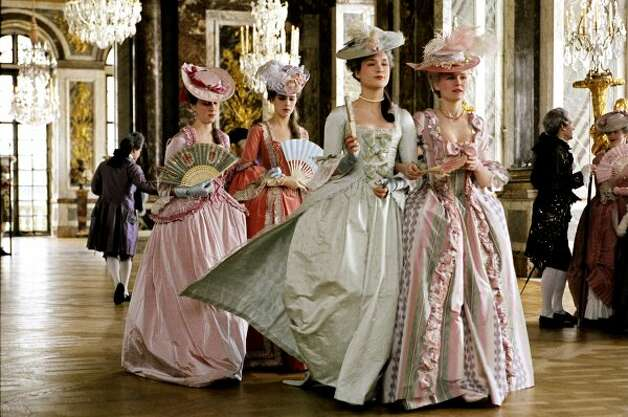 "The breathtaking costumes in ""Marie Antoinette,"" a mix of pastel colors, textured fabrics and incredible embellishments, are certainly fit for a queen."