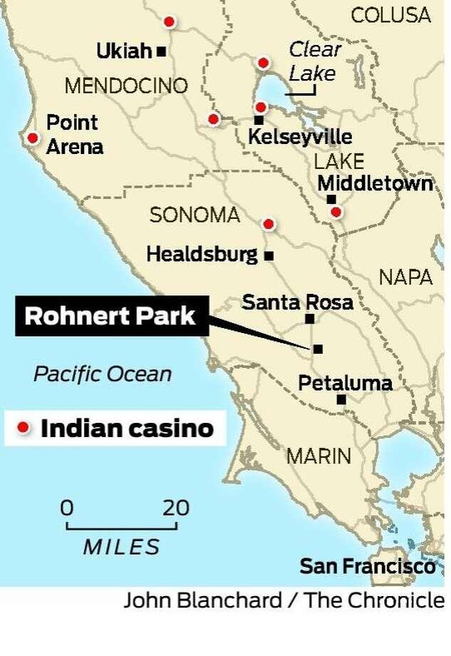 Casino creep comes to Rohnert Park - SFGate