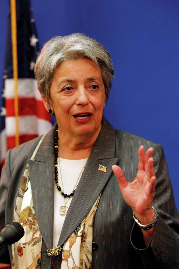 Harris County District Attorney Patricia Lykos during news conference at District Attorney's Office in the Harris County Criminal Justice Center, 1201 Franklin, Wednesday, Nov. 10, 2010, in Houston to announce the filing of Harris County's first anti-gang civil injunction, as part of a coordinated new public safety offensive against organized crime operations.  The initial injunction targets members of the Bloods and Crips gangs who have continually preyed upon the 2,400 residents of the Haverstock Hills apartment complex and its surrounding community in northeast Harris County.  ( Melissa Phillip / Houston Chronicle ) Photo: Melissa Phillip / Houston Chronicle