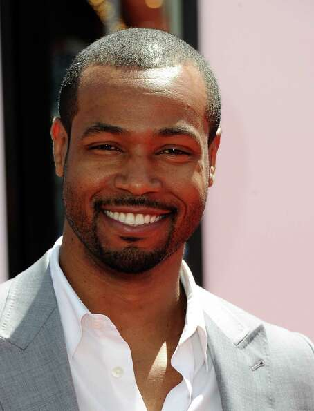 HOLLYWOOD, CA - APRIL 07:  Actor Isaiah Mustafa attends the Los Angeles premiere of